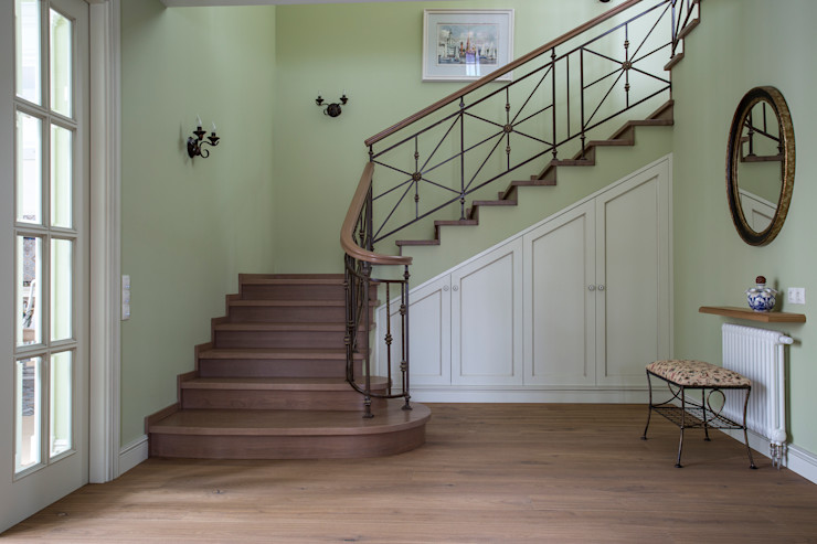 А-Дизайн Couloir, entrée, escaliers ruraux