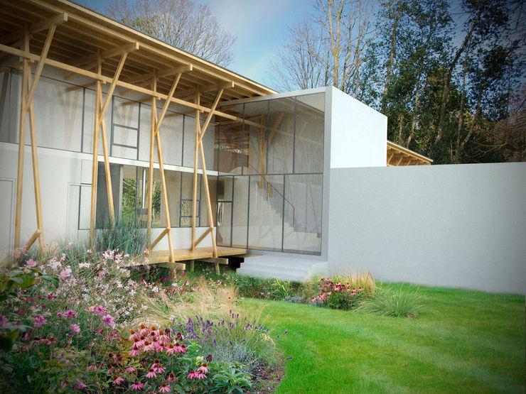 Lake Windermere Studio Maurice Shapero Rumah Modern