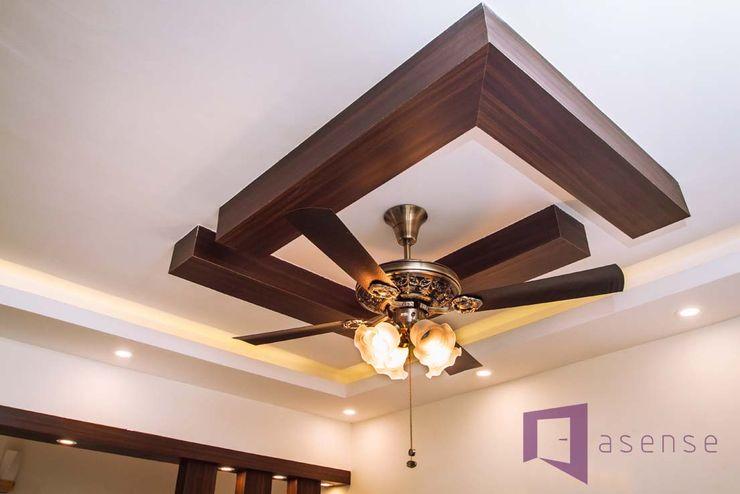 Asense Walls & flooringWall & floor coverings Gỗ Brown