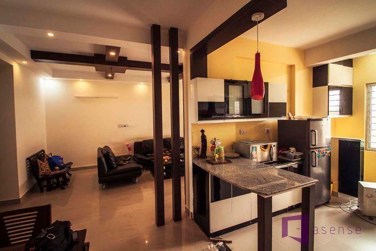 Asense Living roomCupboards & sideboards Kayu Brown