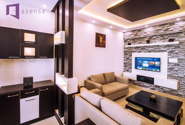 Asense Living roomSofas & armchairs Tekstil White