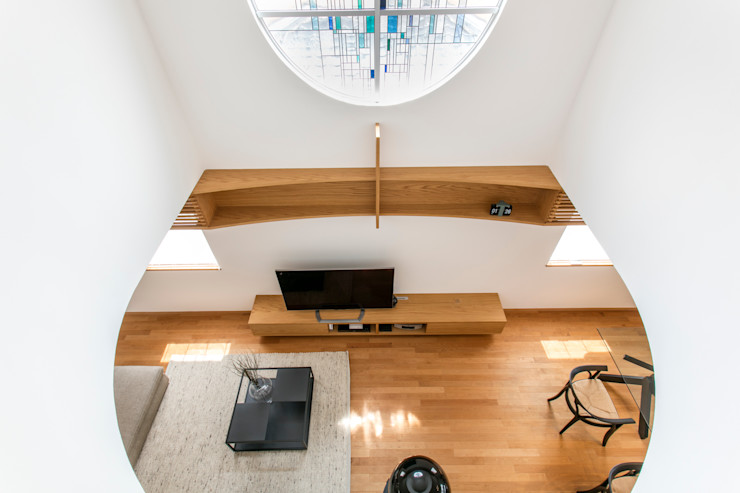 橋本健二建築設計事務所 Living room White