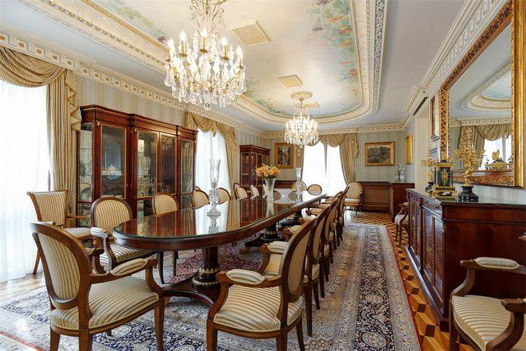 NG PALACE Inan AYDOGAN /IA Interior Design Office Klasik Yemek Odası Ahşap Ahşap rengi