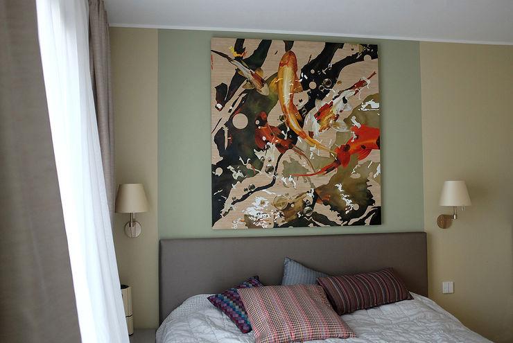 Apartment, Berlin-Mitte, Bedroom homify Classic style bedroom Beige