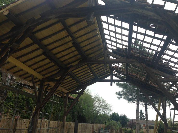 Réfection du toit KREA Koncept Spa rural