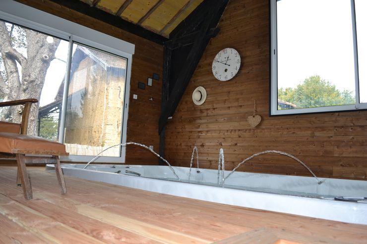 Le spa de nage KREA Koncept Spa rural