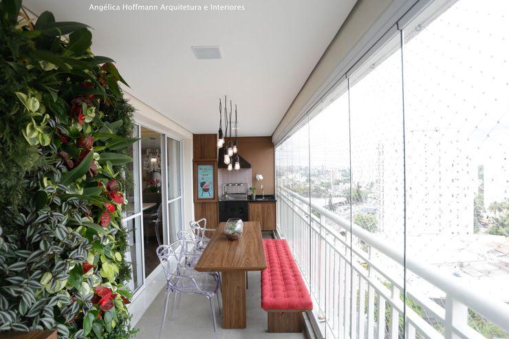 Angelica Hoffmann Arquitetura e Interiores Balcones y terrazas modernos