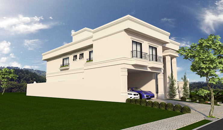 homify Classic style houses Beige