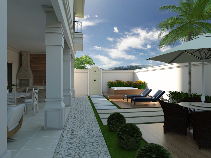 homify Classic style houses White