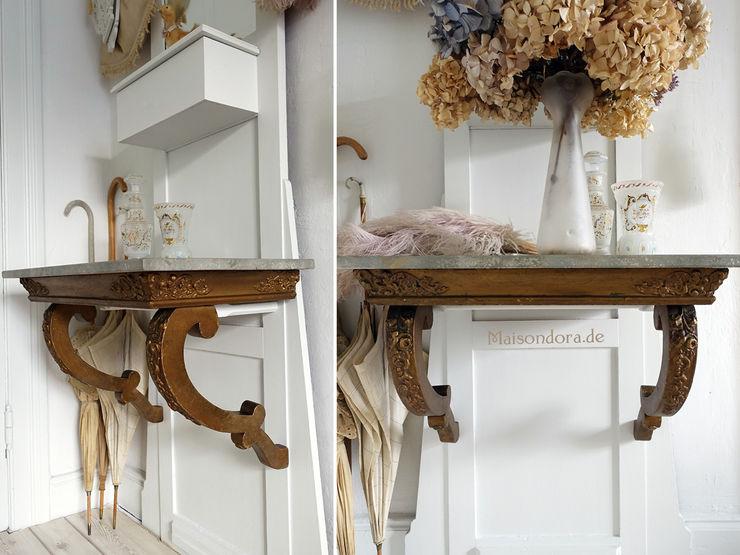 Maisondora Vintage Living Corridor, hallway & stairsDrawers & shelves Wood Amber/Gold
