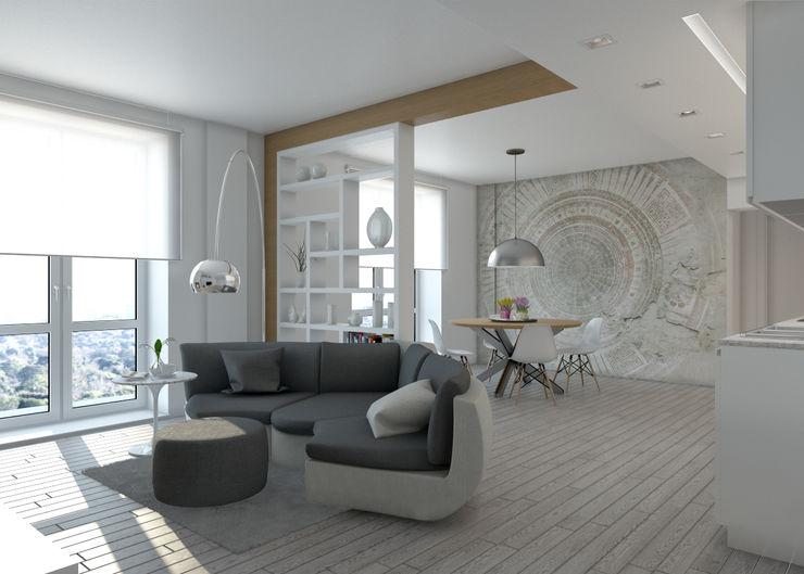 Silvana Barbato Moderne Wohnzimmer