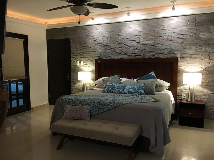 Spazio3Design Modern Bedroom Stone Grey
