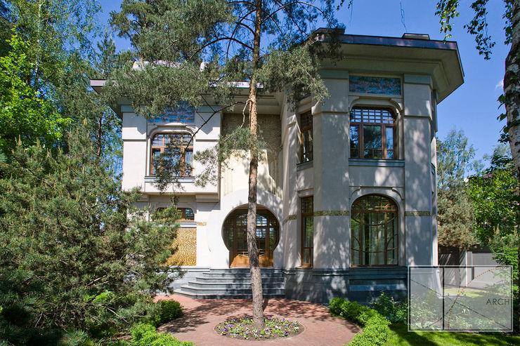 Архитектурная Мастерская Георгия Пряничникова Maisons modernes