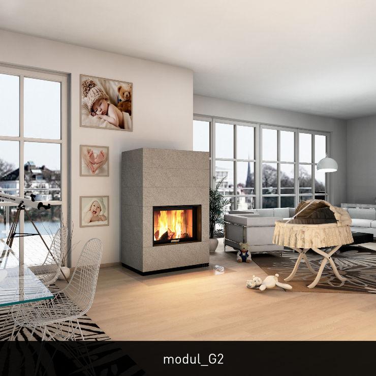 CB-tec GmbH Modern Living Room Stone