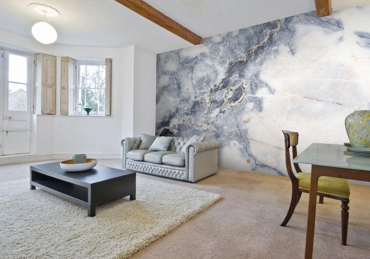 White Marble Wall Mural Wallsauce.com Walls & flooringWallpaper