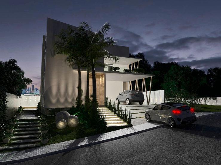 Larissa Vinagre Arquitetos Casas modernas: Ideas, imágenes y decoración