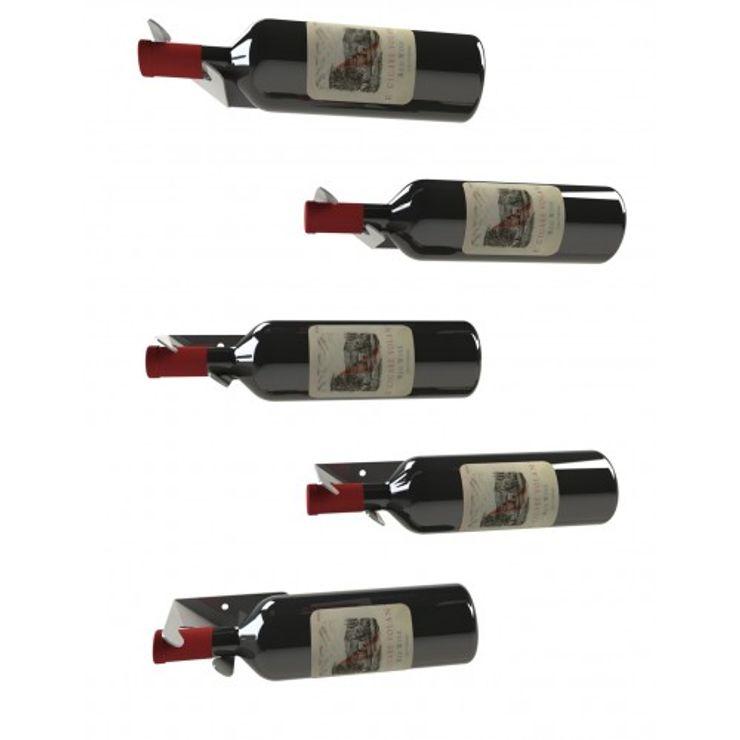 Garrafeiros - Adegas para Vinho Şarap Mahzeni Metal Siyah