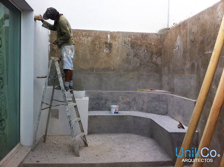 Remodelación de Patio - Casa Metropolitano homify Jardines de estilo moderno Azulejos Acabado en madera