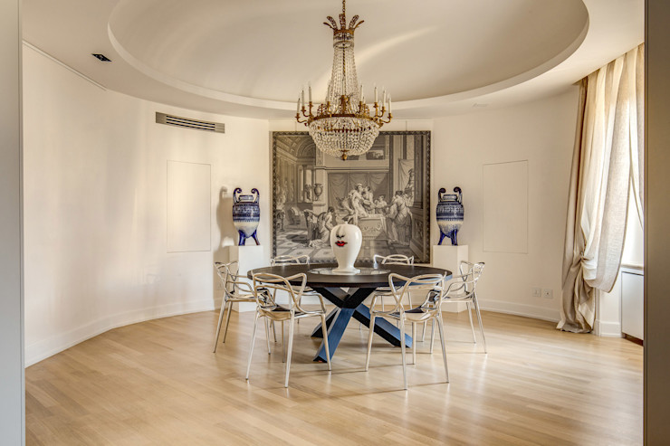 GERMANICO MOB ARCHITECTS Sala da pranzo moderna