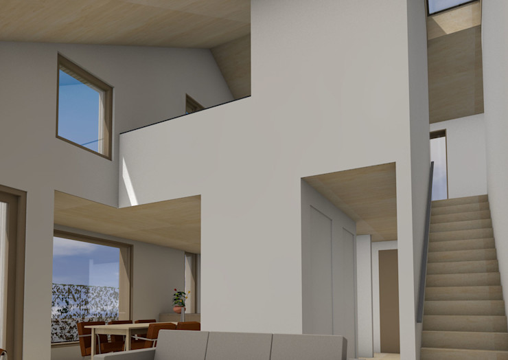 Dick van Aken Architectuur Living room Wood Wood effect