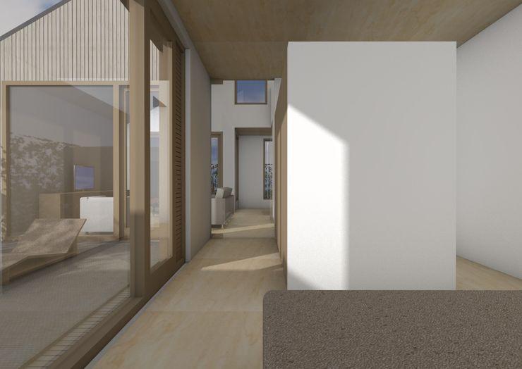 Dick van Aken Architectuur Modern style bedroom Wood White