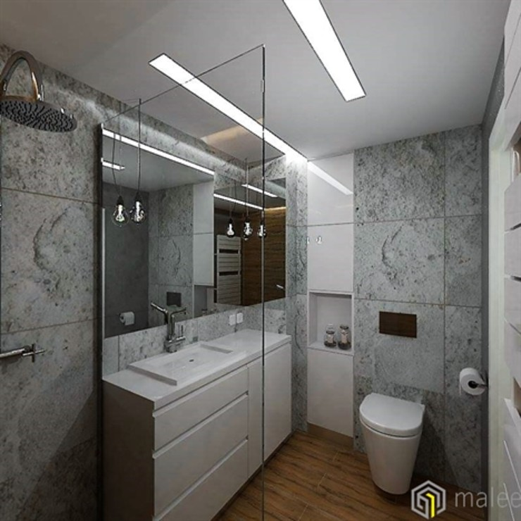malee Minimalist style bathrooms