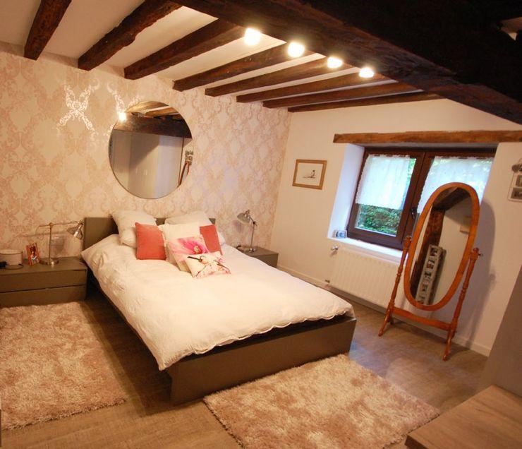 Habitaka diseño y decoración 臥室 木頭 White