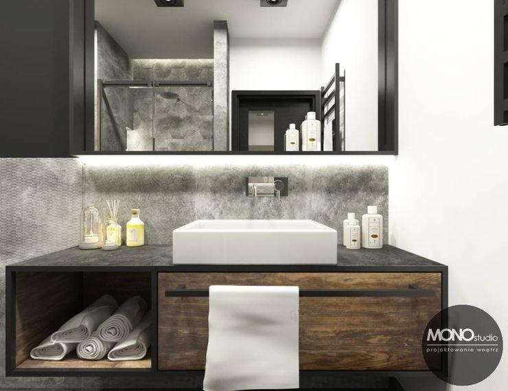 MONOstudio Industrial style bathrooms