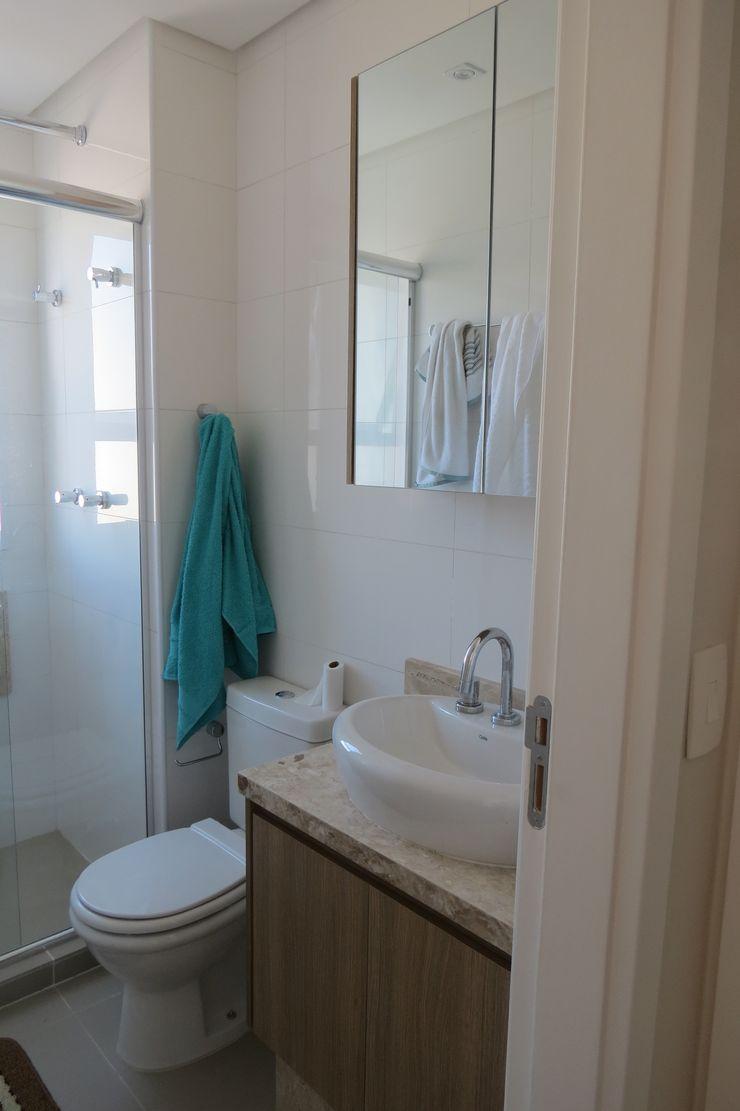 WC In.home Casas de banho modernas MDF