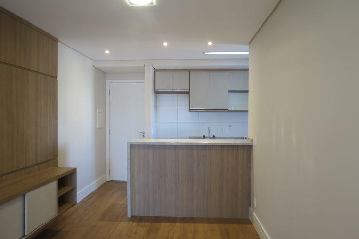 Sala / Cozinha In.home Cozinhas modernas MDF Castanho