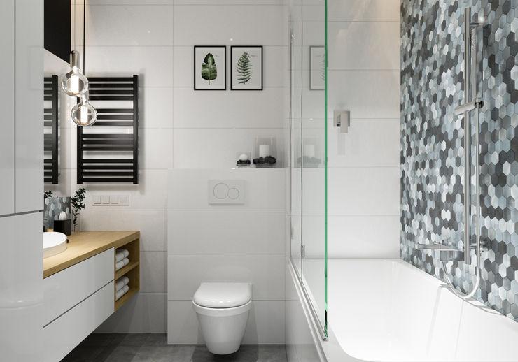PRØJEKTYW | Architektura Wnętrz & Design 浴室