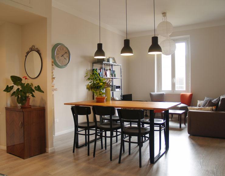 SOGGIORNO ArchEnjoy Studio Sala da pranzo in stile scandinavo