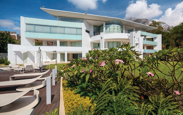 Casa 3 Vivian Dembo Arquitectura Casas modernas Concreto Blanco