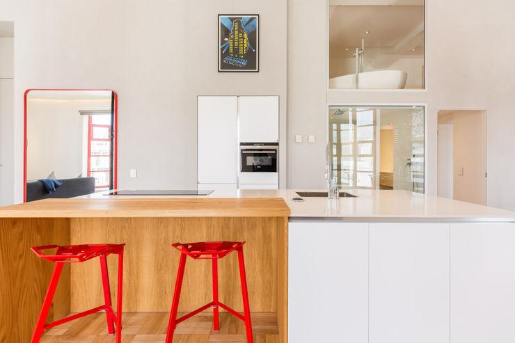 Kitchen 2MD Exclusive Italian Design Modern Kitchen Wood Wood effect