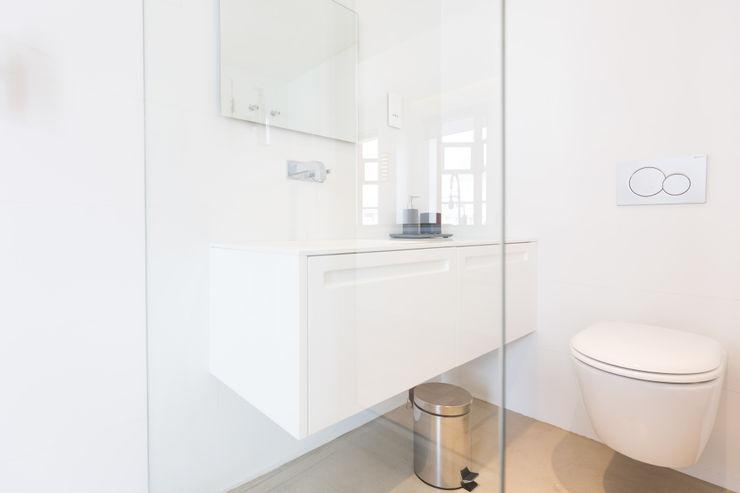 Bathroom 2MD Exclusive Italian Design Modern Bathroom Wood White