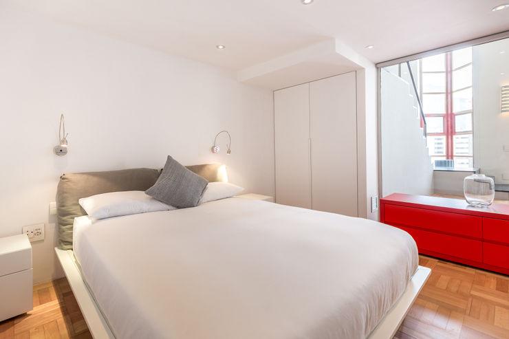 Bedroom 2MD Exclusive Italian Design Modern Bedroom Wood White