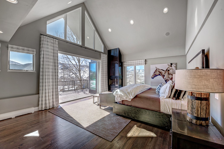 Award Winning Winslow Project Futurian Systems Classic style bedroom