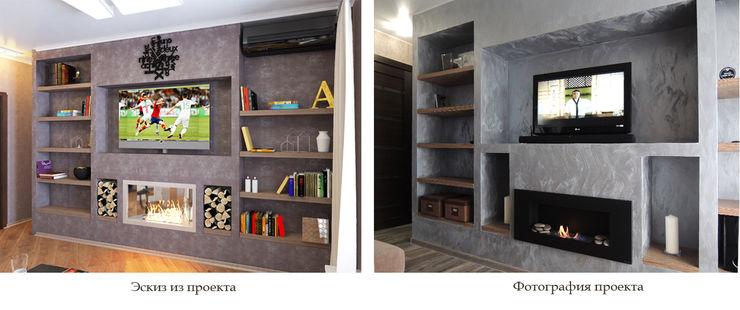 Студия 'Облако-Дизайн' Вітальня