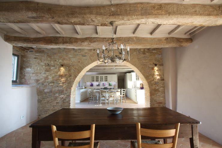 marco carlini architetto Country style kitchen