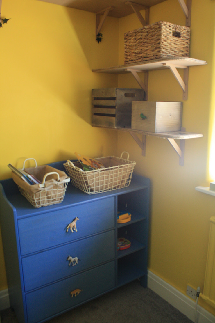 after Girl About The House Eclectic style nursery/kids room Multicolored