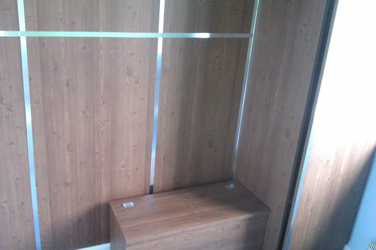 bespoke storage after Girl About The House Nursery/kid's roomStorage Wood effect