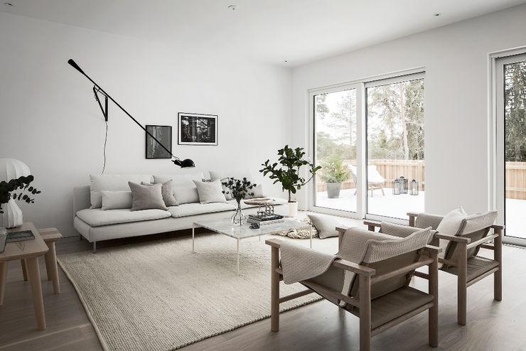Design for Love Salones escandinavos Blanco
