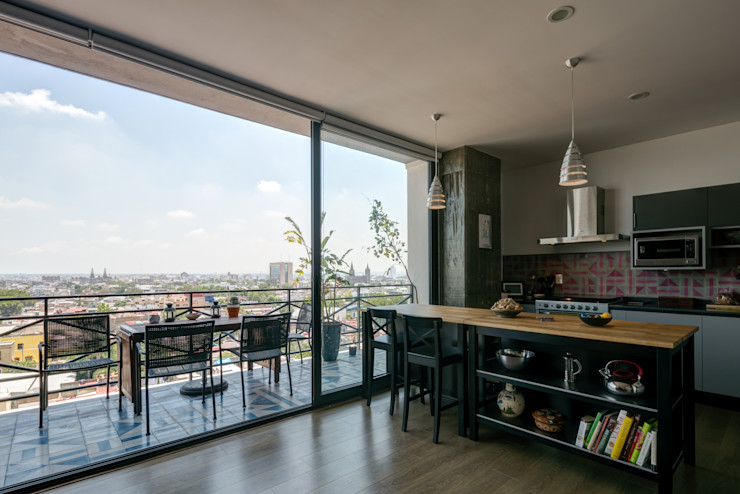 Trama Arquitectos Modern style kitchen