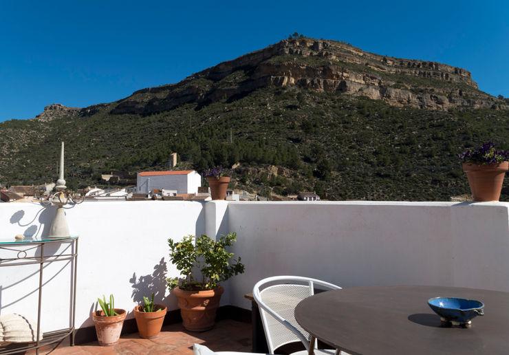 FGMarquitecto Balcon, Veranda & Terrasse ruraux