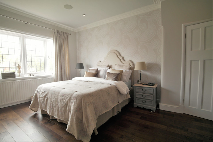 Alexandra Palace Patience Designs Studio Ltd Classic style bedroom