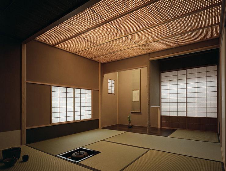 茶室 澄洽庵 柳瀬真澄建築設計工房 Masumi Yanase Architect Office モダンデザインの 多目的室