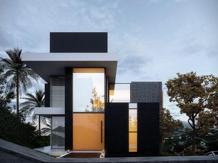 Casa E&P no Vale do Sereno - Nova Lima - Brasil homify Casas modernas