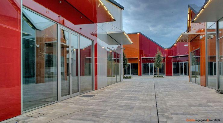 Scalo Milano Cotefa.ingegneri&architetti Centri commerciali in stile industrial