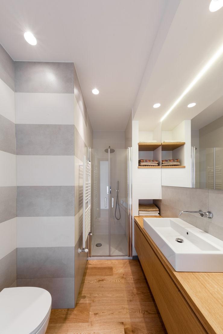bagno ragazzi M2Bstudio Bagno minimalista