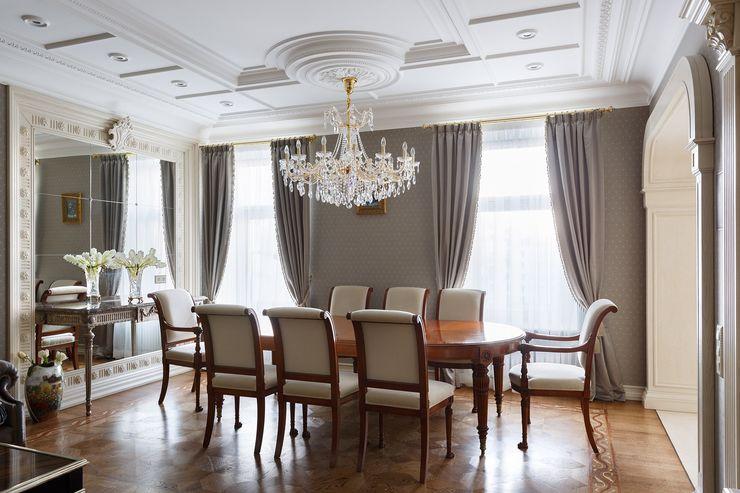 Студия дизайна интерьера в Москве 'Юдин и Новиков' Вітальня